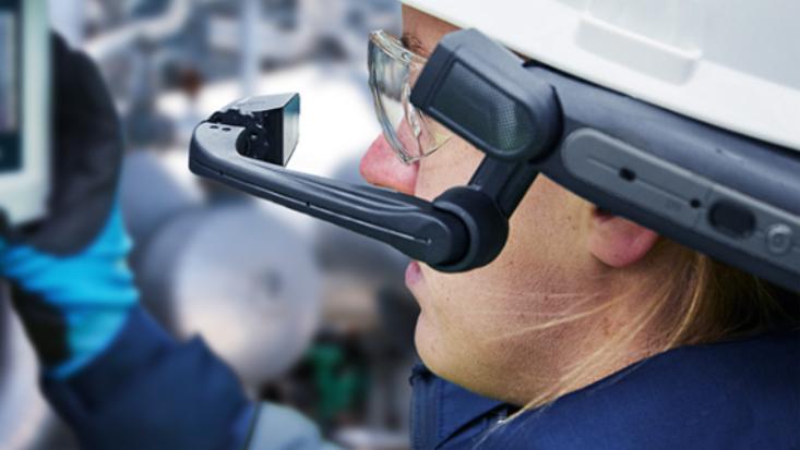 Datenbrillen in der Instandhaltung – RISE Remote Support und die HMT-1Z1 im Einsatz bei XERVON Instandhaltung