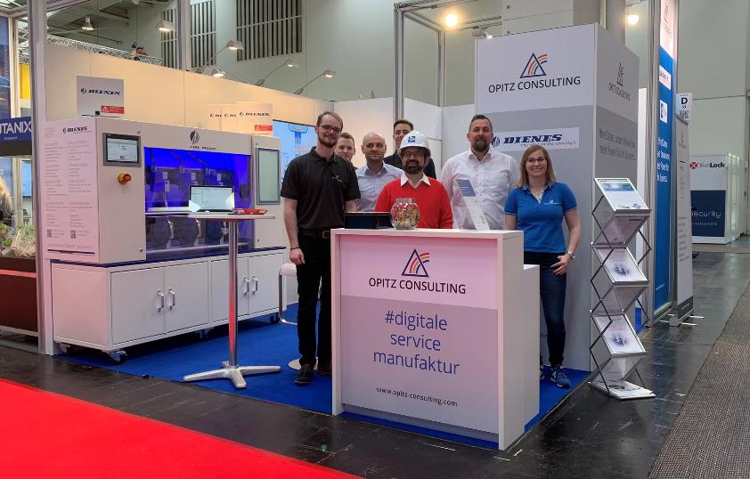 Mit OPITZ Consulting auf der Hannover Messe 2019