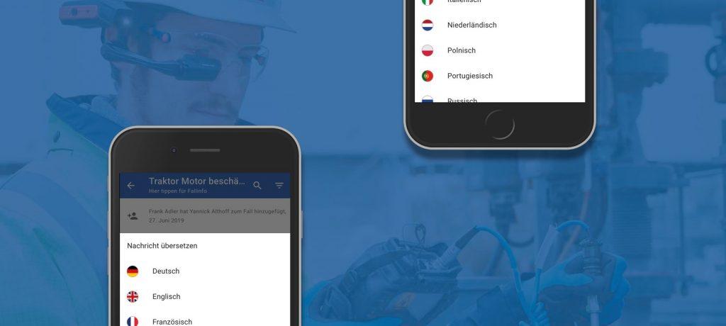 RISE und DeepL: Remote Support in neun Sprachen