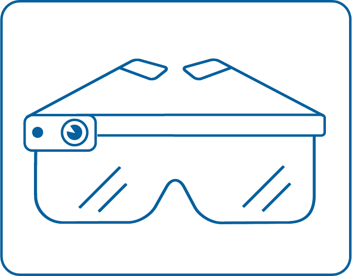 Smartglass Nutzung